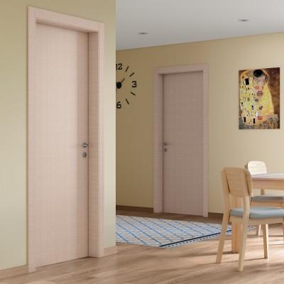 Porta da interno battente Klimt kaki 70 x H 210 cm dx