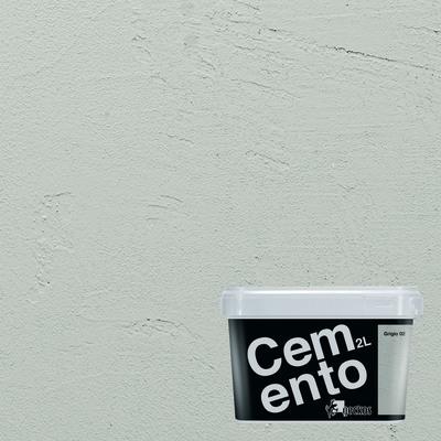 Pittura ad effetto decorativo Cemento Grigio 2 2 L