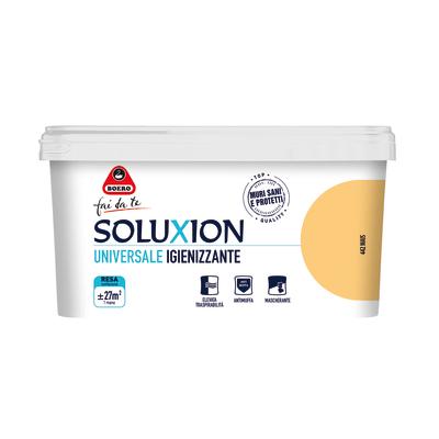 Idropittura  igienizzante antimuffa Soluxion mais 2,5 L Boero
