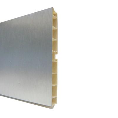 Zoccolino H 12 cm alluminio L 300 cm