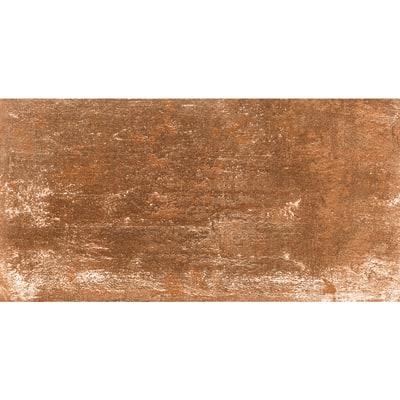 Piastrella Dolmen 15 x 30 cm rosso