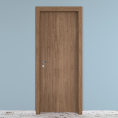 Porta da interno battente Aztec 80 x H 210 cm reversibile