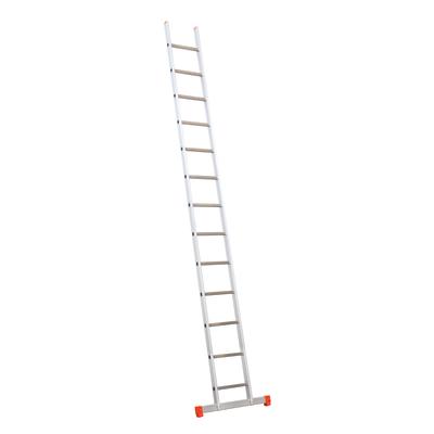 Scala ad appoggio alluminio 13 gradini, per lavori fino a 5 m