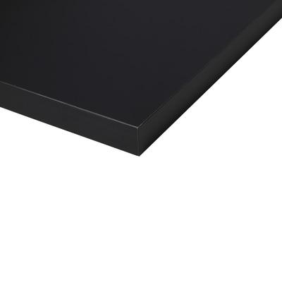 Piano cucina su misura Fenix NTM Indigo nero 4 cm