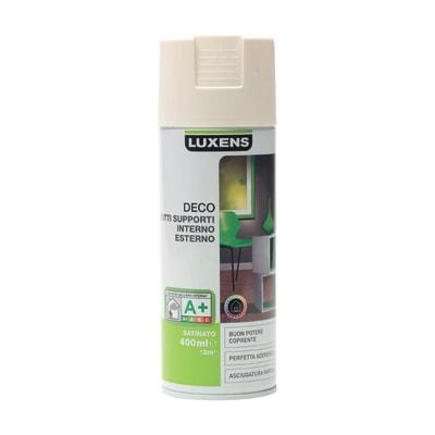 Smalto spray Deco Luxens Bianco Avorio 1 satinato 400 ml