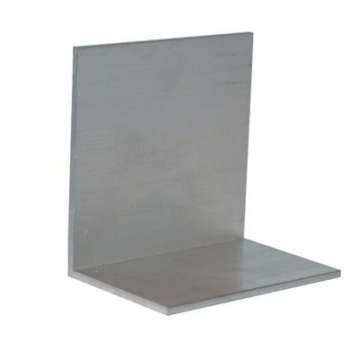 Chiusure ferma lastra in alluminio 5 x 5  cm, spessore 2 mm
