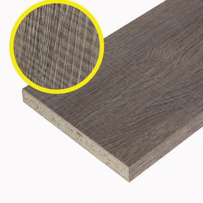 Pannello melaminico rovere medio 18 x 400 x 1820 mm