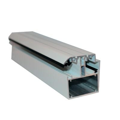 Kit bordo autoportante in alluminio 300 x 8  cm, spessore 2 mm