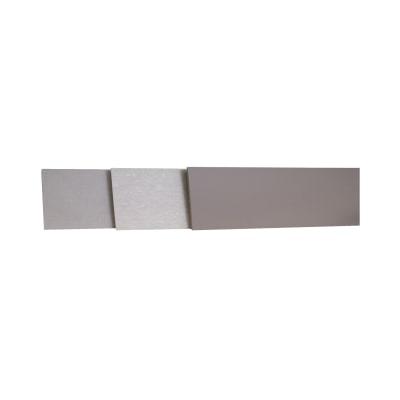 Alzatina su misura Travertino Romano laminato grigio H 10 cm
