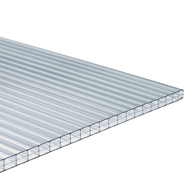 Lastra alveolare Onduline Onduclair PCMW in policarbonato 98 x 300  cm, spessore 10 mm