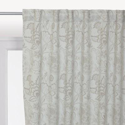 Tenda Flowers grigio 140 x 280 cm