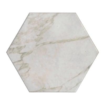 Piastrella Esagona 15 x 17,3 cm avorio