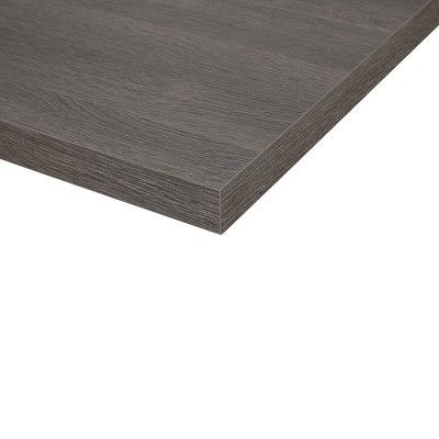 Piano cucina su misura laminato City grigio 4 cm