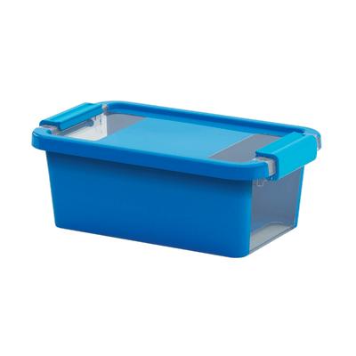 Scatola Bi Box XS L 16 x P 26,5 x H 10 cm azzurro
