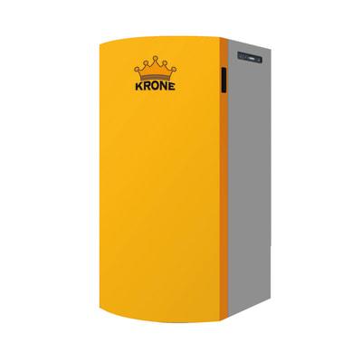 Caldaia a pellet Krone BOILER20KR-AUTO 17,51 kW arancio e grigio