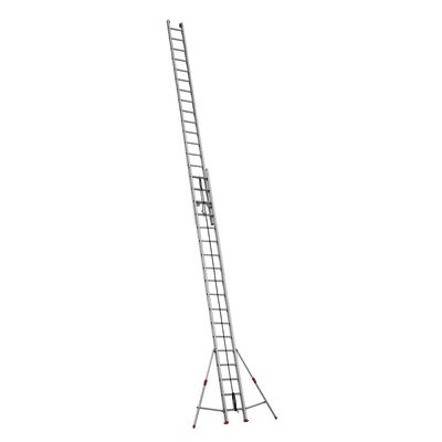 Scala con fune alluminio Facal 2x18 gradini, per lavori fino a 11 m