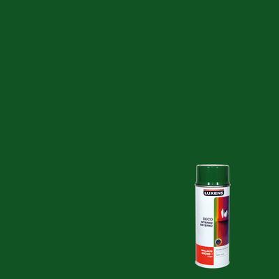 Smalto spray Deco Luxens verde foglia RAL 6002 brillante 400 ml