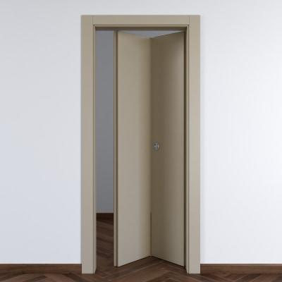 Porta da interno pieghevole Cinder grigio 70 x H 210 cm dx
