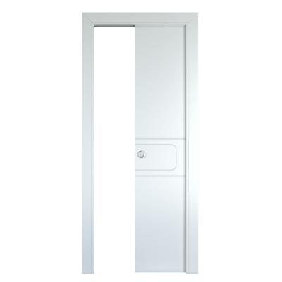 Porta da interno scorrevole Seventy bianco 60 x H 210 cm reversibile