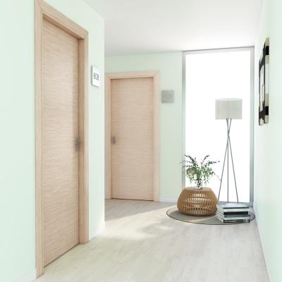 Porta per hotel battente Radisson oak rovere sbiancato 60 x H 210 cm dx