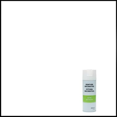 Smalto spray a solvente bianco satinato 400 ml