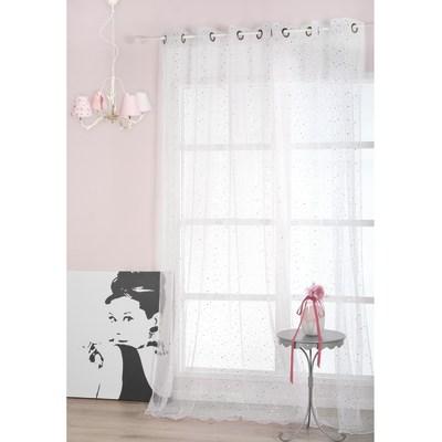 Tenda Stellina bianco 140 x 280 cm