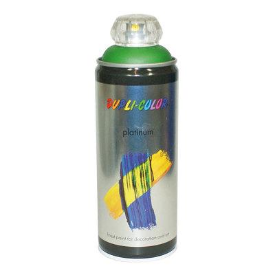 Smalto spray Platinum verde foglia RAL 6002 satinato 400 ml