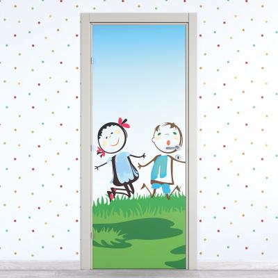 Porta da interno battente Junior 70 x H 210 cm dx