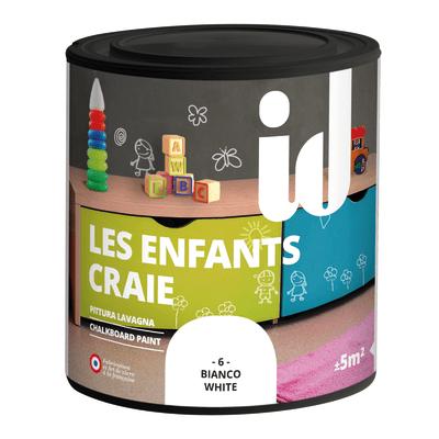 Pittura Effetto lavagna Les Décoratives bianco 0.5 L