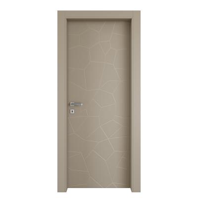 Porta da interno battente The Thing grigio 80 x H 210 cm dx