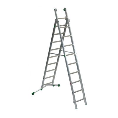 Scala sfilo alluminio Facal 9+10 gradini, per lavori fino a 6 m