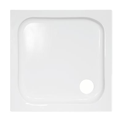 Piatto doccia acrilico remyx 70 x 70 cm bianco prezzi e for Offerte cabine doccia leroy merlin