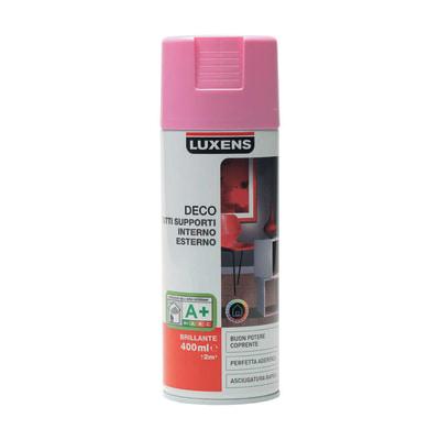 Smalto spray Deco Luxens Rosa Shocking 5 brillante 400 ml