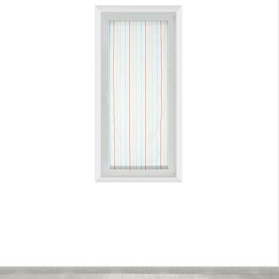 Tendina a vetro per finestra Irene bianco 60 x 150 cm