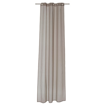 Tenda Shali tortora 140 x 280 cm