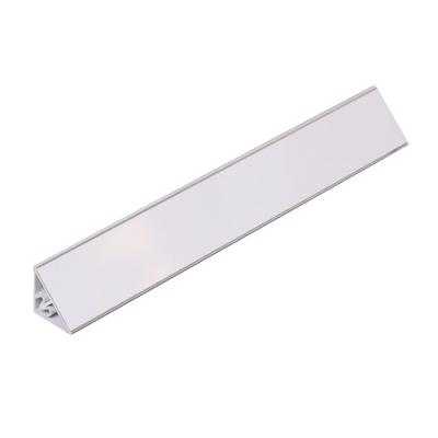Alzatina PVC bianco lucido L 300 x H 2,5 cm