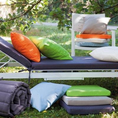Cuscino seduta ecru 37 x 40 cm