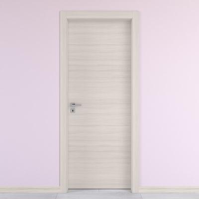 Porta da interno battente Oxford 70 x H 210 cm reversibile