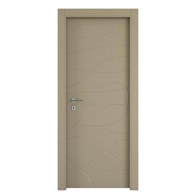 Porta da interno battente Wind taupe tortora 60 x H 210 cm dx