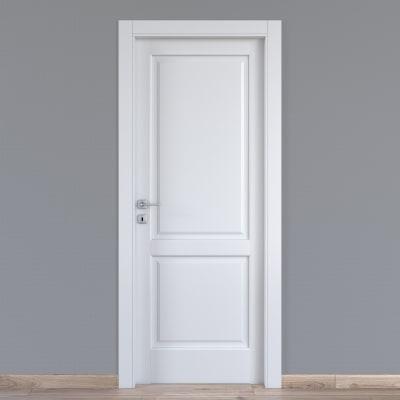 Porta da interno battente Dubhe bianco 70 x H 210 cm dx