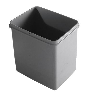 Secchio per pattumiera 15 L grigio