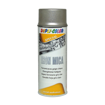 Smalto per ferro antiruggine spray Iron grigio chiaro antichizzato 0,4 L