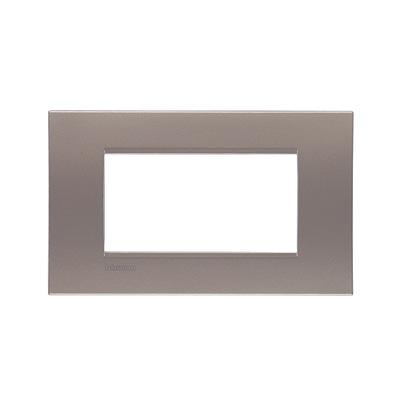 Placca 4 moduli BTicino Livinglight square