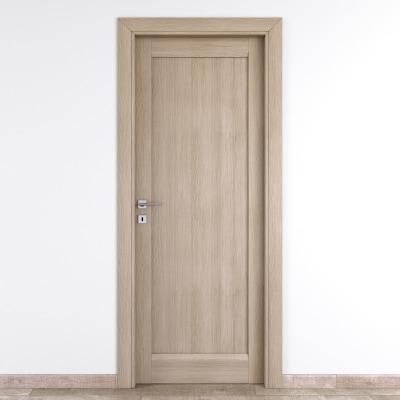 Porta da interno battente Etamin paglia 70 x H 210 cm dx