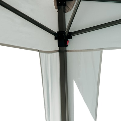 Gazebo pieghevole Eori copertura ecru 2 x 3 m