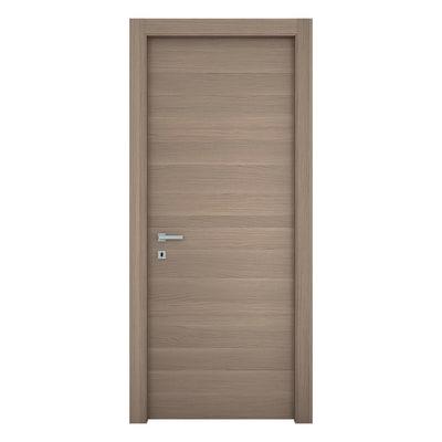 Porta da interno battente Sheraton rovere naturale 60 x H 210 cm reversibile