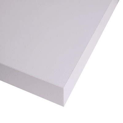 Piano cucina su misura laminato Ghiaccio bianco 6 cm