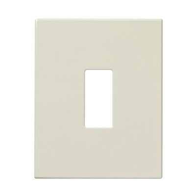 Placca 1 modulo Vimar serie 8000 avorio