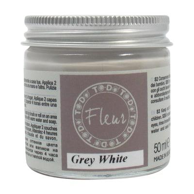 Idropittura traspirante grey white 50 ml Fleur