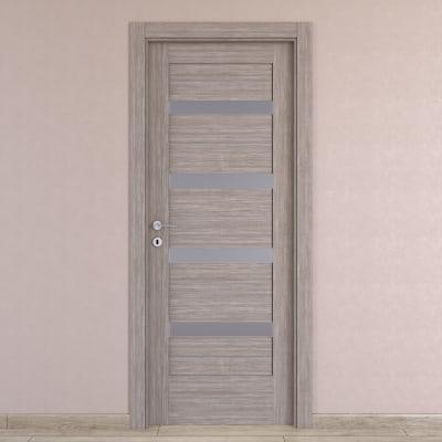 Porta da interno battente Capena 5 sabbia 60 x H 210 cm dx